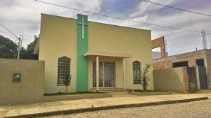 Igreja de Nossa Senhora de Guadalupe, alvo dos ladrões no bairro Sol Nascente.