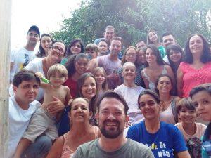 Dona Dora e família