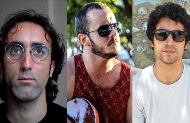 Os amigos Bel, Helder e Gabriel. (Foto: reprodução Jornal Cidade)