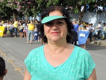 A supervisora da escola, Maria Helena Félix, agradeceu a parceria da Lagoacred e da Crediprata para o desenvolvimento da campanha contra a dengue e pela limpeza da cidade.