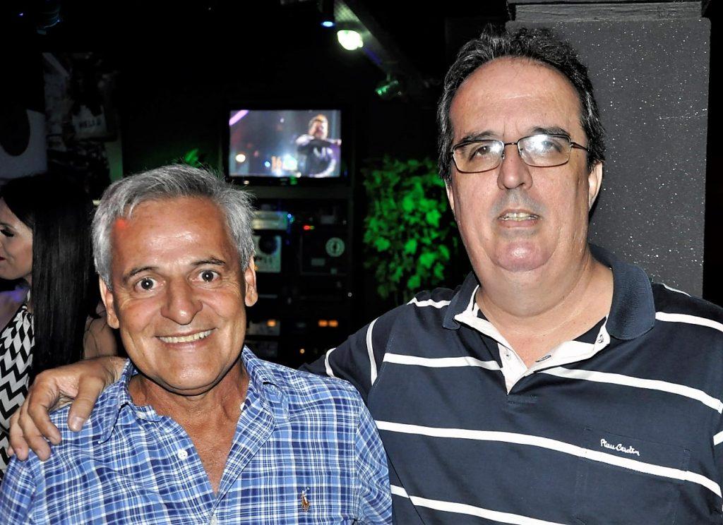 Carlão com o diretor da Lucs, Julio Batista